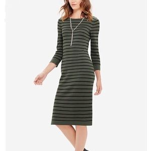 The Limited Green Sweater dress-small